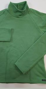 Athleta Green Sweatshirt Size Small women's mock